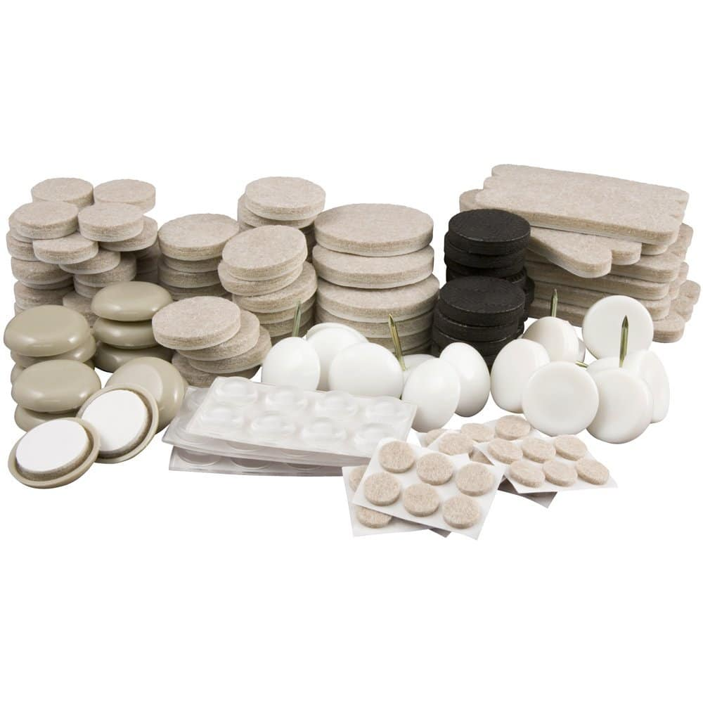 SuperSliders 180 Piece Value Pack, Reusable Furniture Moving Kit for All Floor Types- $9.99 @Amazon