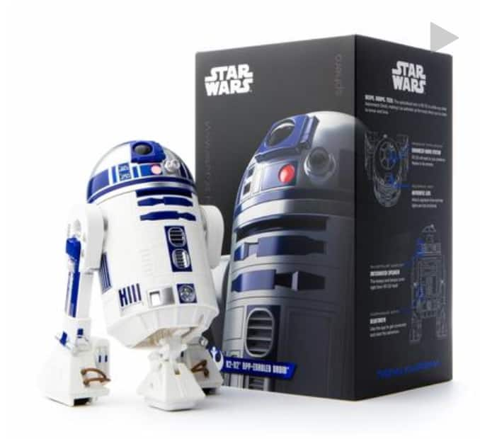 R2-D2 Sphero App enable: This is the Droid you're looking for! $99
