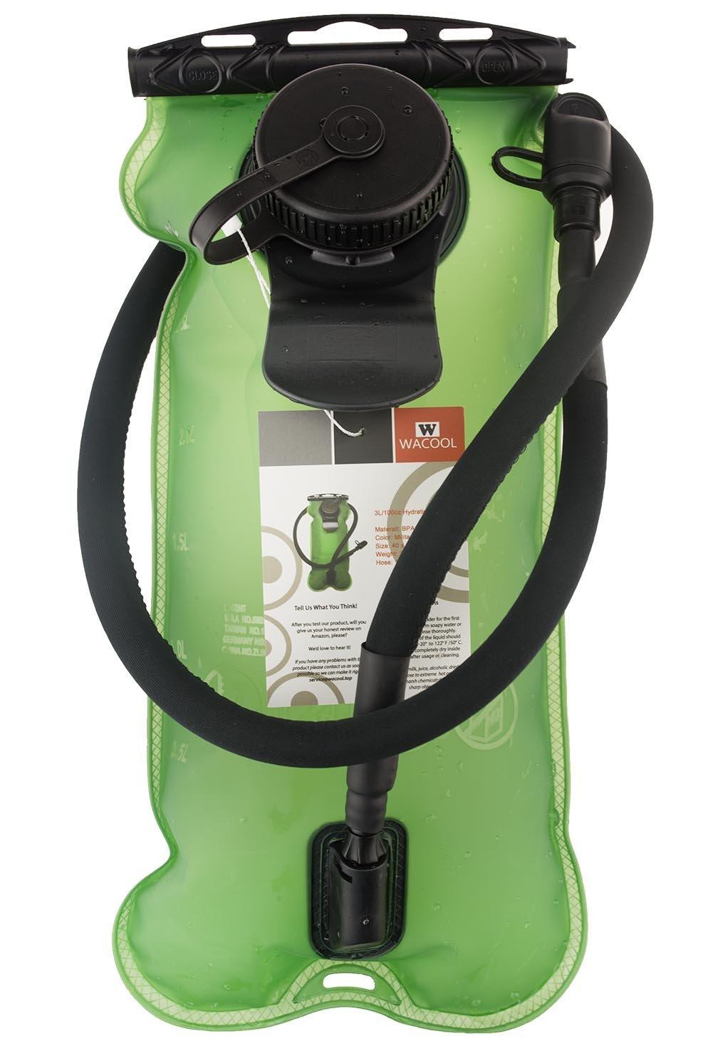 3L 3Liter 100oz BPA Free EVA Hydration Pack Bladder $11.89