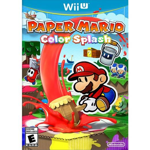 Paper Mario: Color Splash PREOWNED - Nintendo Wii U - Target $24.99 Free S/H