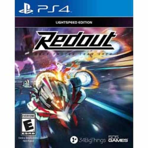 Redout (Lightspeed Edition) PlayStation 4 - $11.98 - Target Clearance B&M YMMV