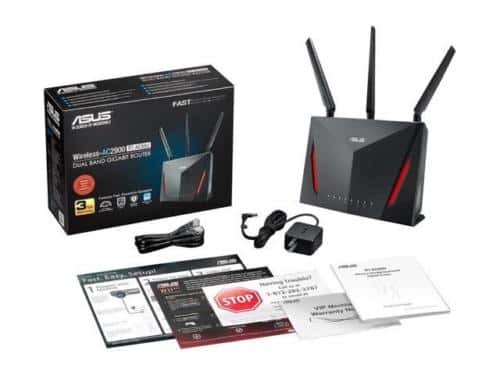 ASUS AC2900 Wi-Fi Dual-band Gigabit Wireless Router (RT-AC86U) - $157.83 + F/S @ Newegg via Ebay