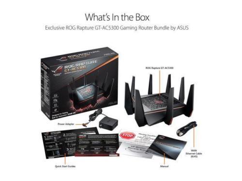 DEAD - ASUS ROG AC5300 Wi-Fi Tri-band Gigabit Wireless Router (GT-AC5300) - $319.99 + F/S @ Newegg via Ebay