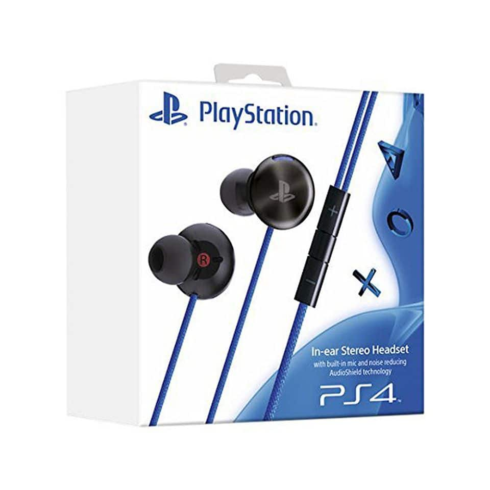 Sony PS4 PlayStation Noise Reducing In-Ear Stereo Headset with Built-In Mic - $19.99 + F/S - Daily Steals via Facebook Marketplace
