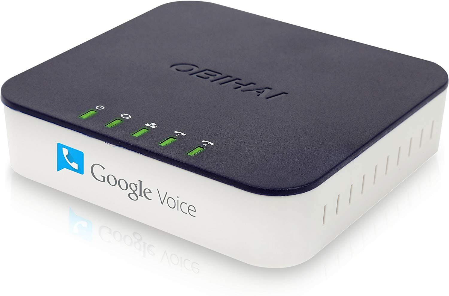 OBi202 2-Port VoIP Phone Adapter with Google Voice and Fax Support for Home and SOHO Phone Service $52