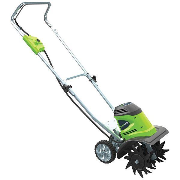 Greenworks 10-Inch 8 Amp Corded Tiller 27072 $102.59