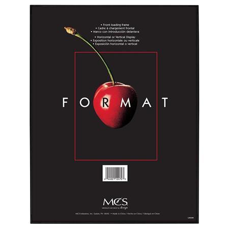 "MCS Plastic Format Frame for a 11x14"" Photograph, Color; Black $2.99"