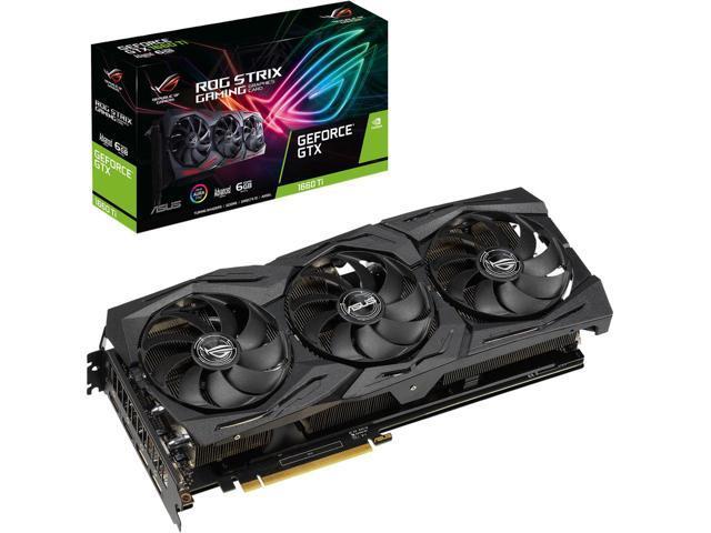 ASUS ROG Strix GeForce GTX 1660 Ti ROG-STRIX-GTX1660TI-A6G-GAMING Video Card $259.99
