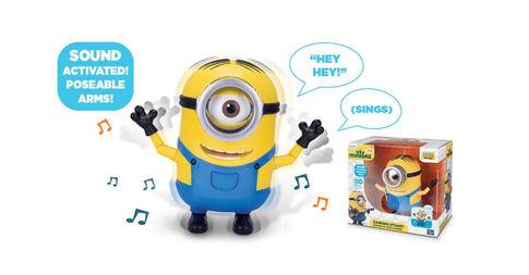Minions Movie Dancing Stuart $4.98 + Free Shipping