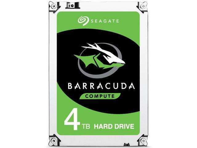 "Seagate BarraCuda ST4000DM005 4TB 64MB Cache SATA 6.0Gb/s 3.5"" Hard Drive Bare Drive $92.99"