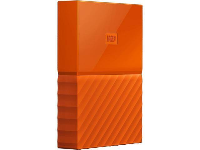 WD 4TB My Passport Portable Hard Drive USB 3.0 Model WDBYFT0040BOR-WESN Orange $104.99