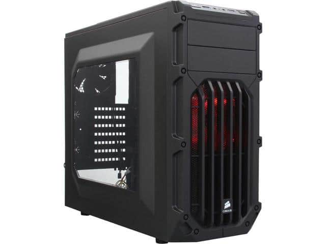 Corsair Carbide Series SPEC-03 Black Steel ATX Mid Tower Gaming Case ...