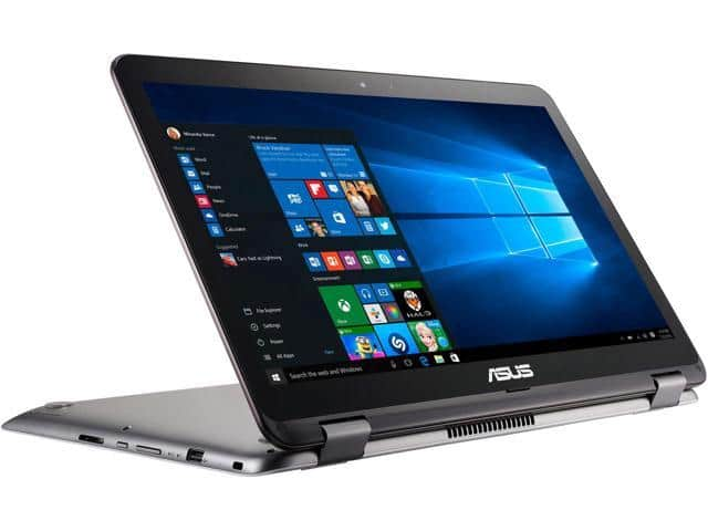 """ASUS VivoBook Flip R518UA-DH51T 15.6"""" Thin and Lightweight 2-in-1 HD Touchscreen Laptop $569.99"""