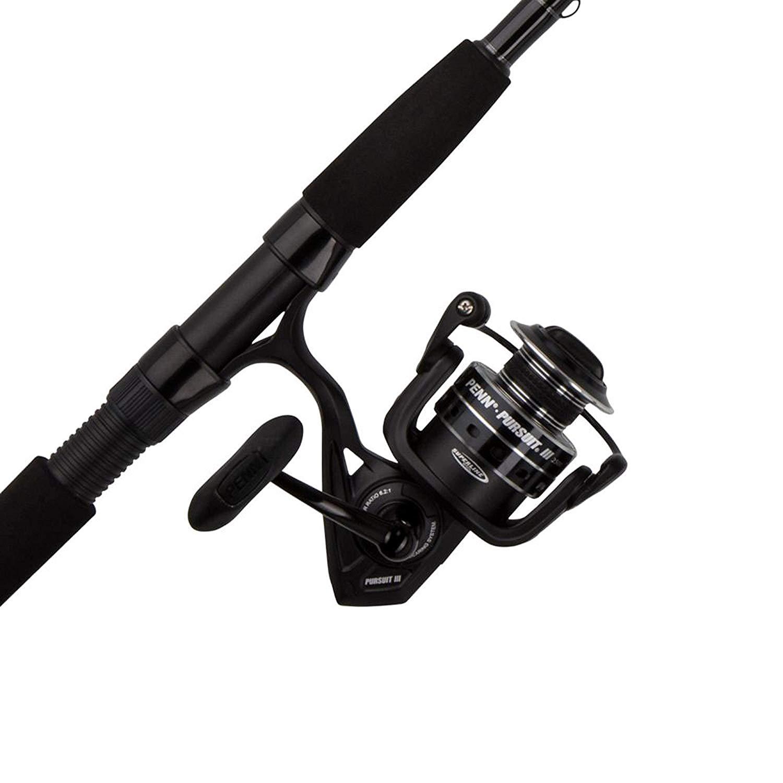 Penn Pursuit III 7' 4000 Spinning Fishing Reel & Rod Combo $50.98