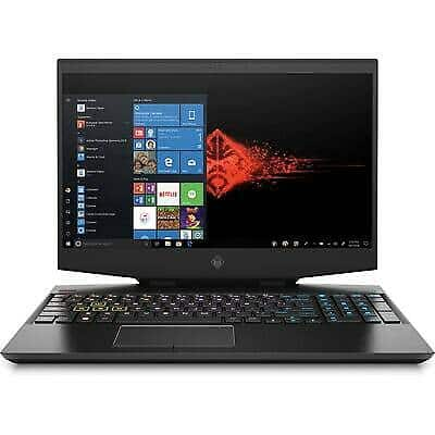 """HP OMEN Laptop - 15.6"""" 144hz - i7-10750H - 16 GB - RTX 2070 Max-q -1TB HD 7200rpm $949.99"""