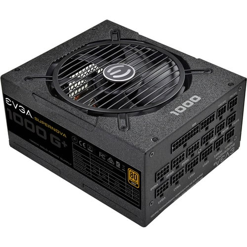 EVGA Supernova 1000W G1+  80 Plus Gold Fully Modular Power Supply $189.99