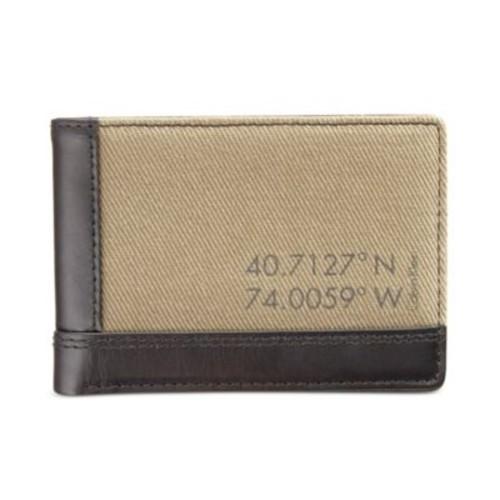 Calvin Klein Men's Canvas Billfold Wallet $13.46