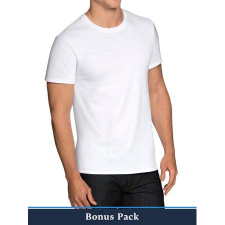 Walmart.com- Buy 6, Get 6 Free White Crew Tees, V-Necks, and A-Shirts-$14.96- $1.24 Per-Free Shipping at $35 Shirt