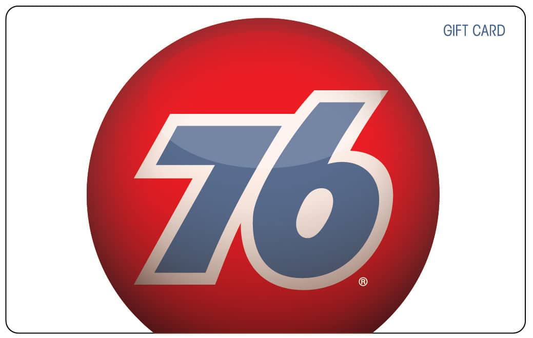 "$100 Gift Card for ""76"" gas stations for $92 w/ Free Shipping"
