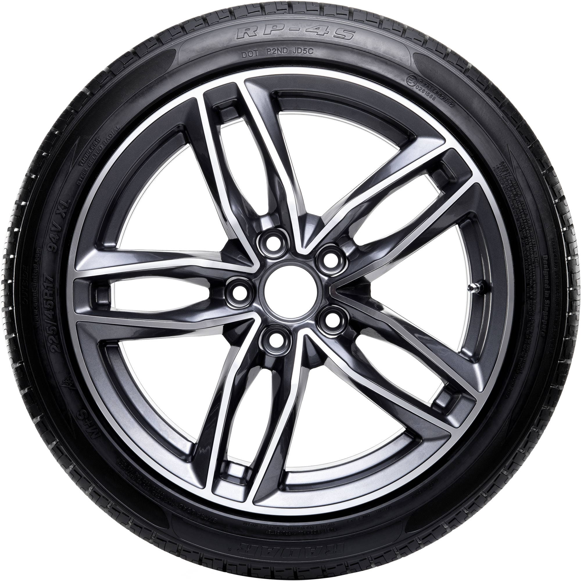 Radar Dimax 4 Season RP-4S *RUN FLAT* Tires 255/55R18 109W BSW for $55.50+tax