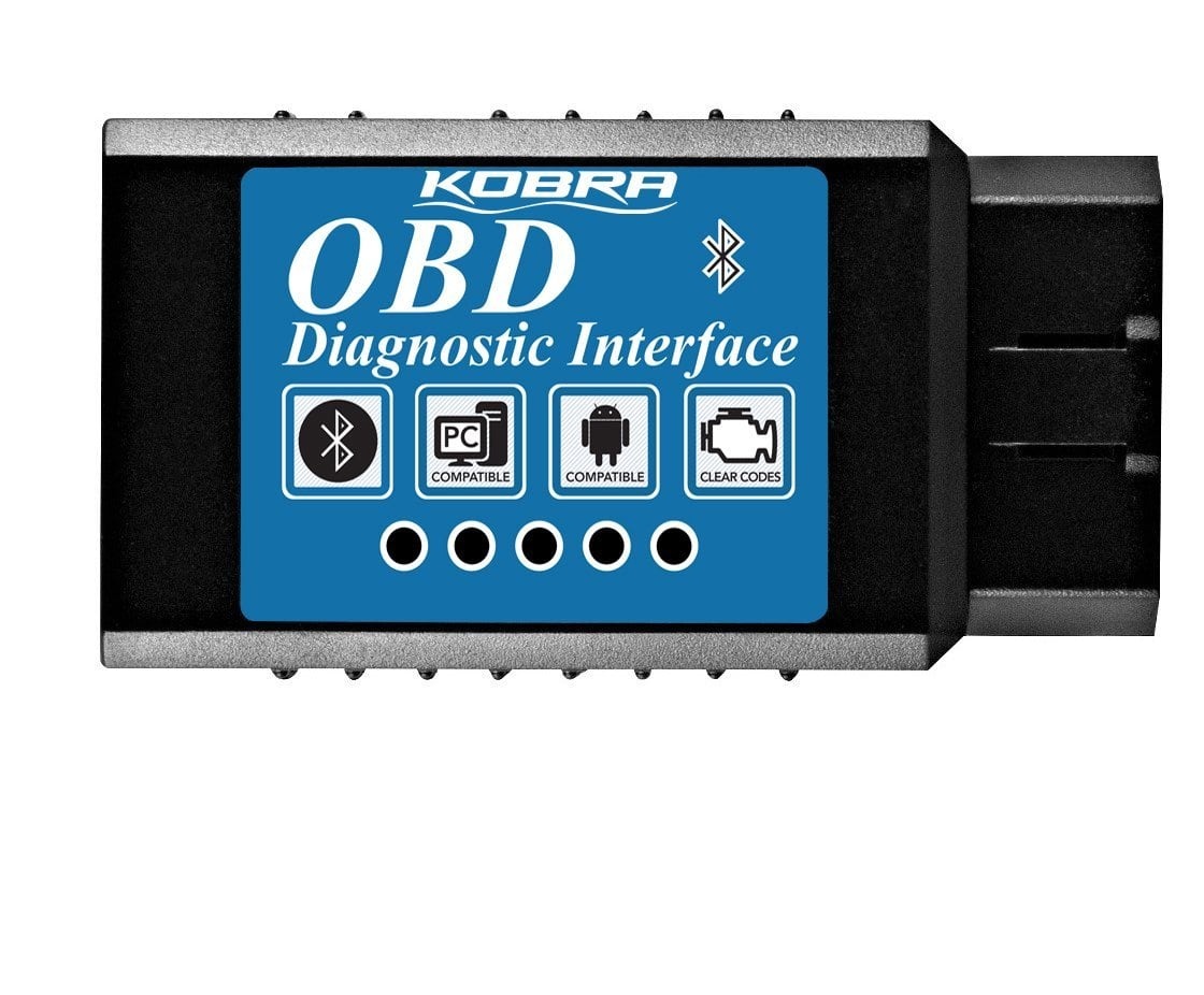 KOBRA Bluetooth OBD2 Adapter for Android devices for $8.41