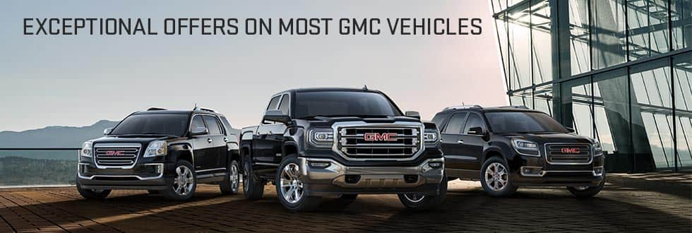 20% off GMC Sierra SLT Crew Cab pickup trucks (and Acadia and Terrain)