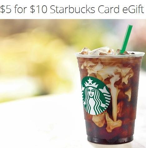 Back Again - $5 for $10 Starbucks - Groupon