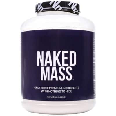 Naked Mass Unflavored Weight Gainer Protein - 8 lbs. - $32.48 with Free S&H online