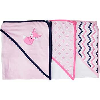 Luvable Friends Unisex Baby Cotton Terry Hooded Towels $5.67