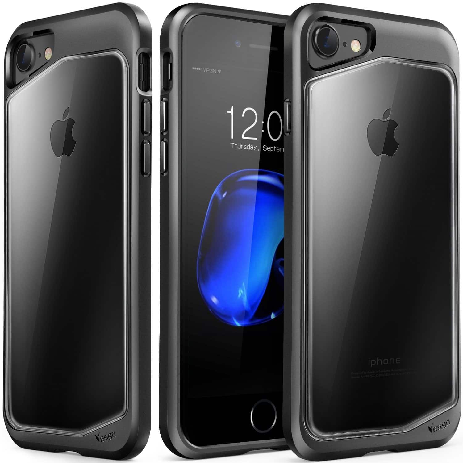 iPhone Case--Transparent Back Scratch Resistant Protective Cover for iPhone 7/7 Plus starting from $2.99 + Free Ship from USA