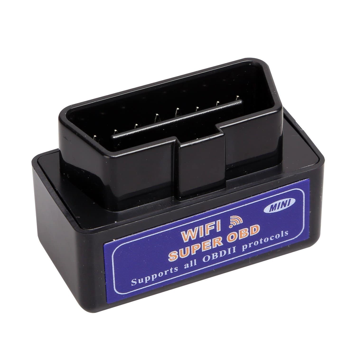 OBD2 WiFi Adapter Car OBD OBD II Engine Scanner Auto Diagnostic Tool Read Error Code for iOS & Android Devices $14 - Amazon