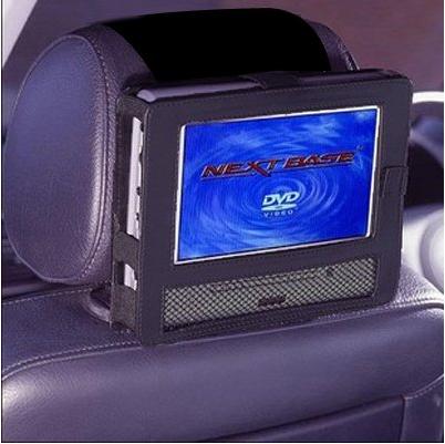 TFY Car Headrest Mount for Swivel & Flip Style Portable DVD Player-9 Inch - $7.99 @ Amazon