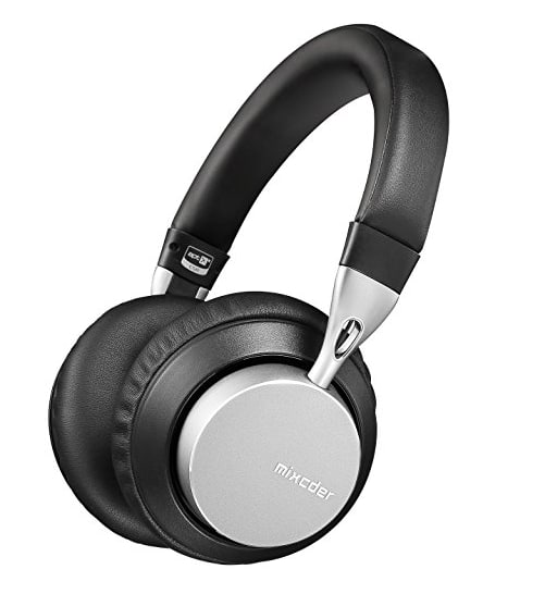 Premium MS301 Mixcder Wireless & Wired V4.2 Over Ear Bass Headphones with aptX Low Latency Audio- Foldable Headset with Mic & Bluetooth - $48.79 @ Amazon