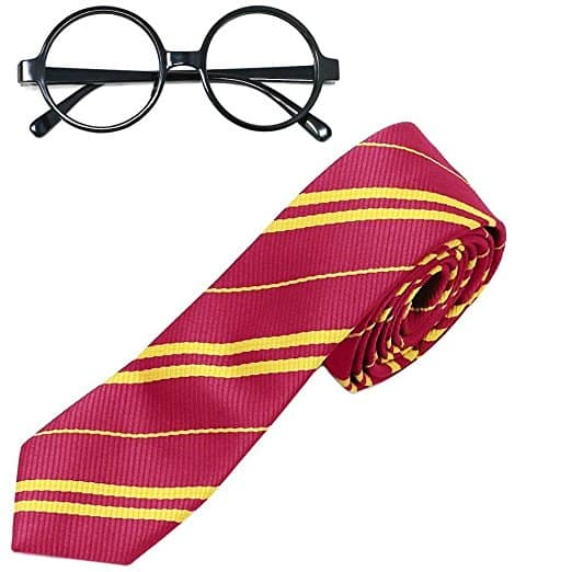 Harry Potter Novelty Glasses and Tie Costume Accessories at $7.79 @Amazon + FS
