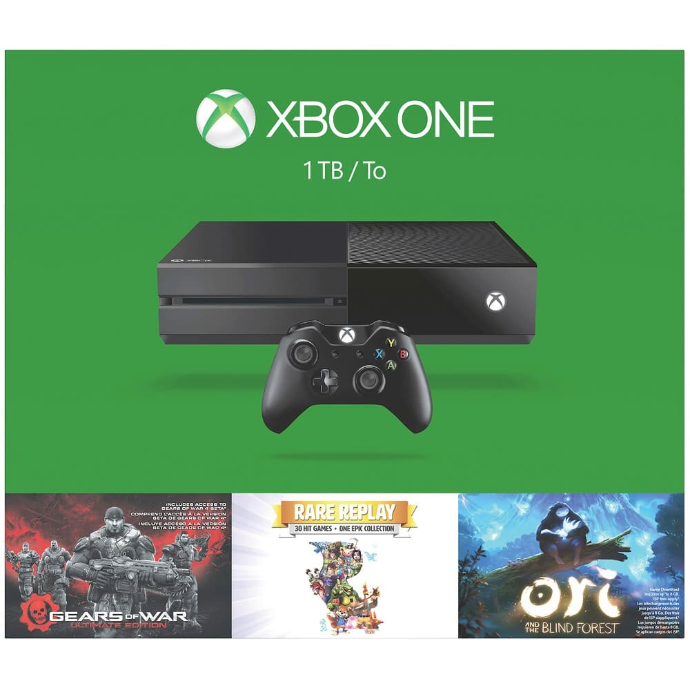 Xbox One 1Tb Bundles $298+tax or less.  in store only