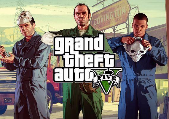 Grand Theft Auto GTA 5 Key + Great White Shark Card $23.68