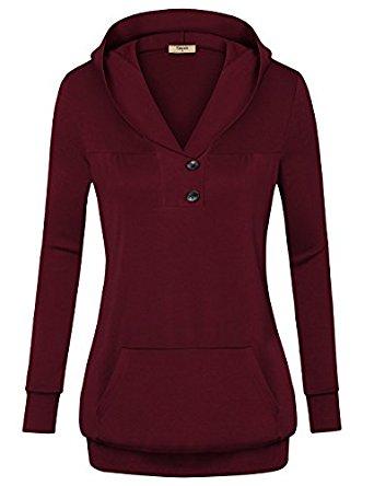 Timeson Womens Long Sleeve Sweatshirt  $19.49 AC  + FS @ Amazon.com