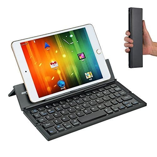Battop Folding Bluetooth Keyboard with Kickstand for $18.19 @ Amazon.com