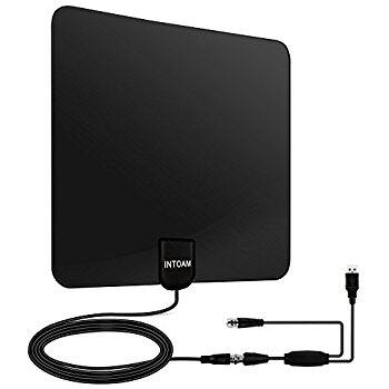 Indoor HDTV Amplified Antenna with 50 Mile Range for $11.79 @ Amazon.com