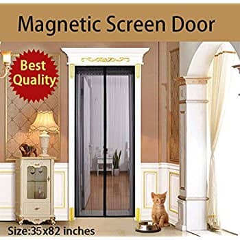 Uinstone Magnetic Screen Door with Velcro Straps for $7.99 @ Amazon.com