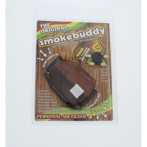 Smoke Buddy Personal Air Purifier Cleaner Filter Removes Odor - Wood $11.51