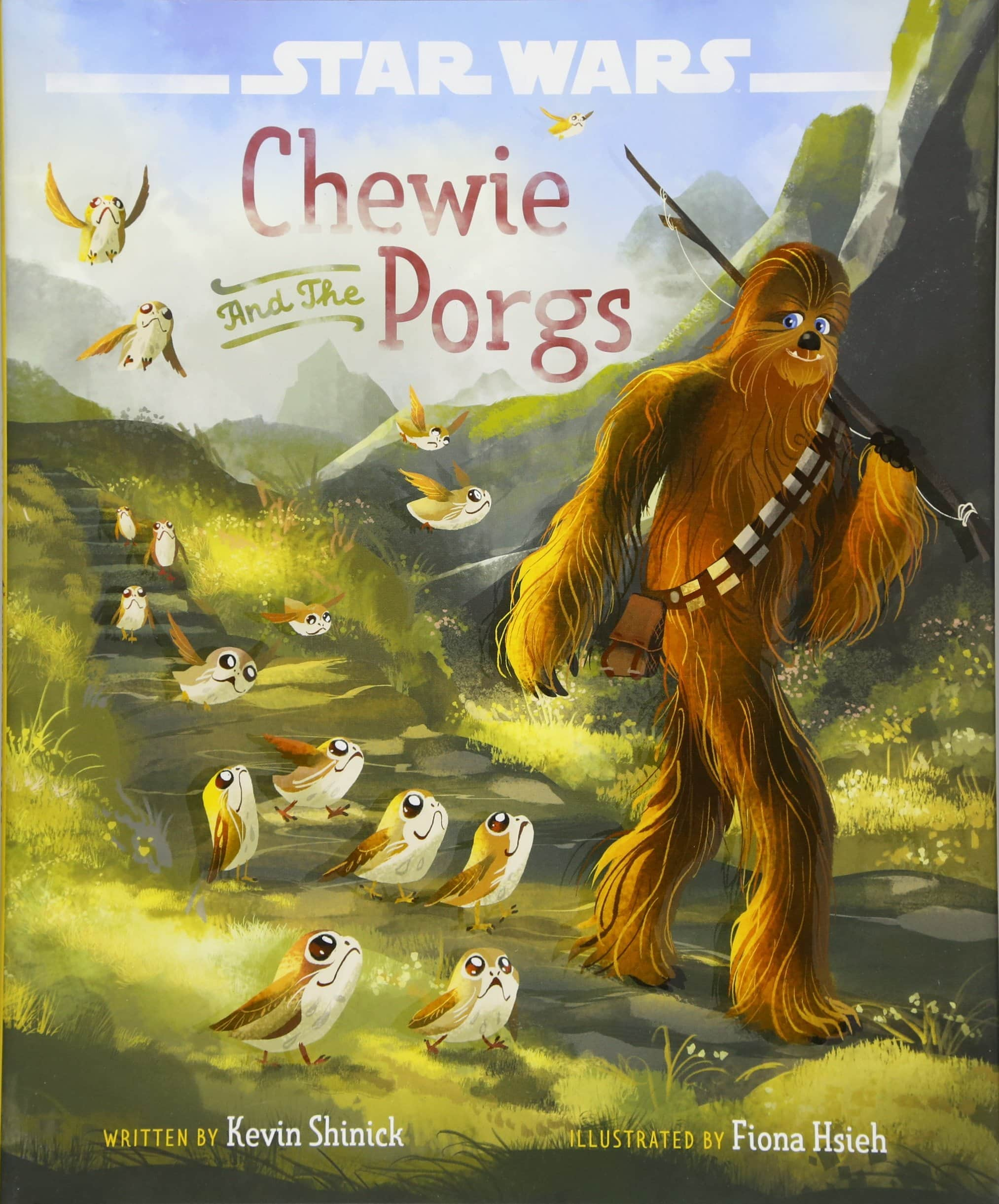 Amazon $10.51 Star Wars: The Last Jedi Chewie and the Porgs Hardcover