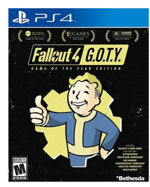Newegg $25 Fallout 4 Game of the Year Edition PlayStation 4
