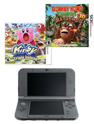 GameStop: $119 (Refurbished) New Black 3DS XL system + 2
