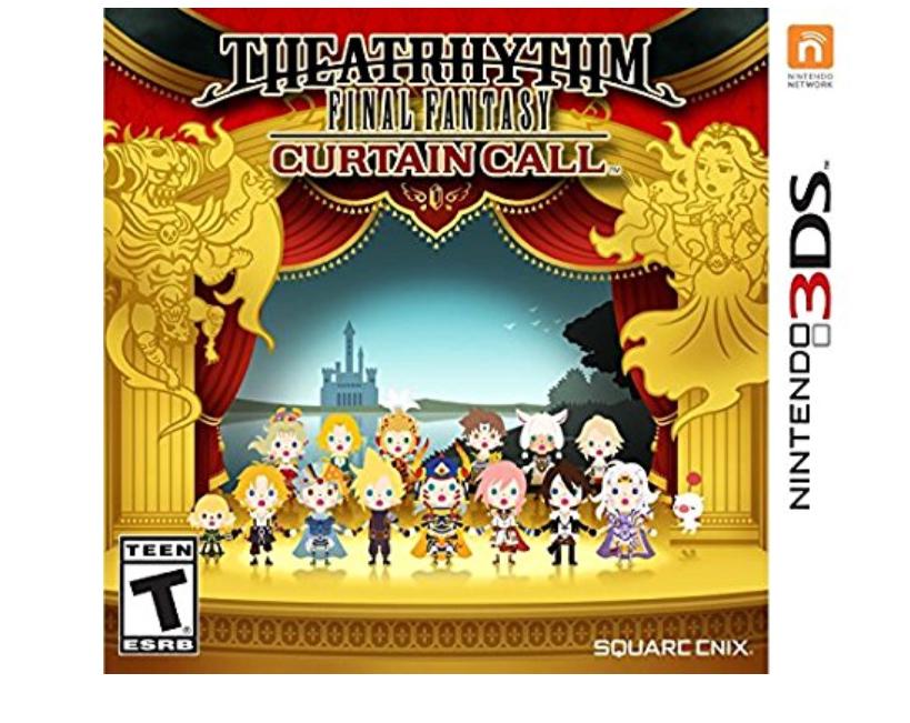 Amazon: $14.98 Theatrhythm Final Fantasy: Curtain Call - Nintendo 3DS