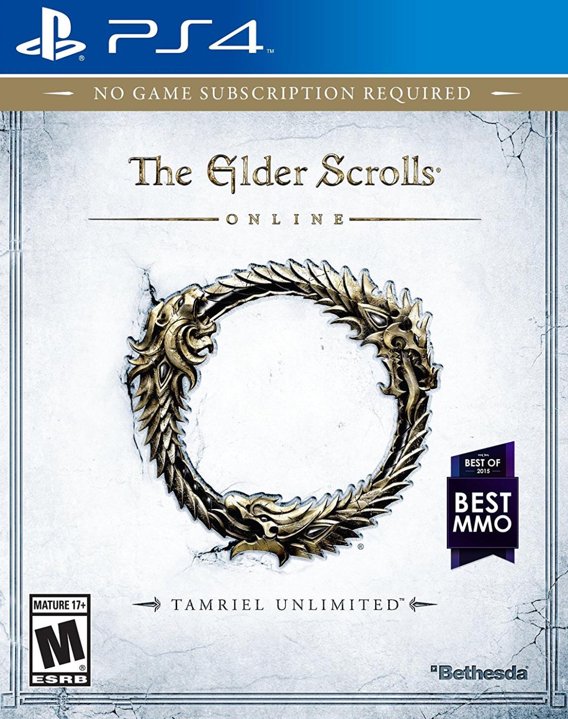 Amazon: $14.19 Elder Scrolls Online Tamriel Unlimited PS4