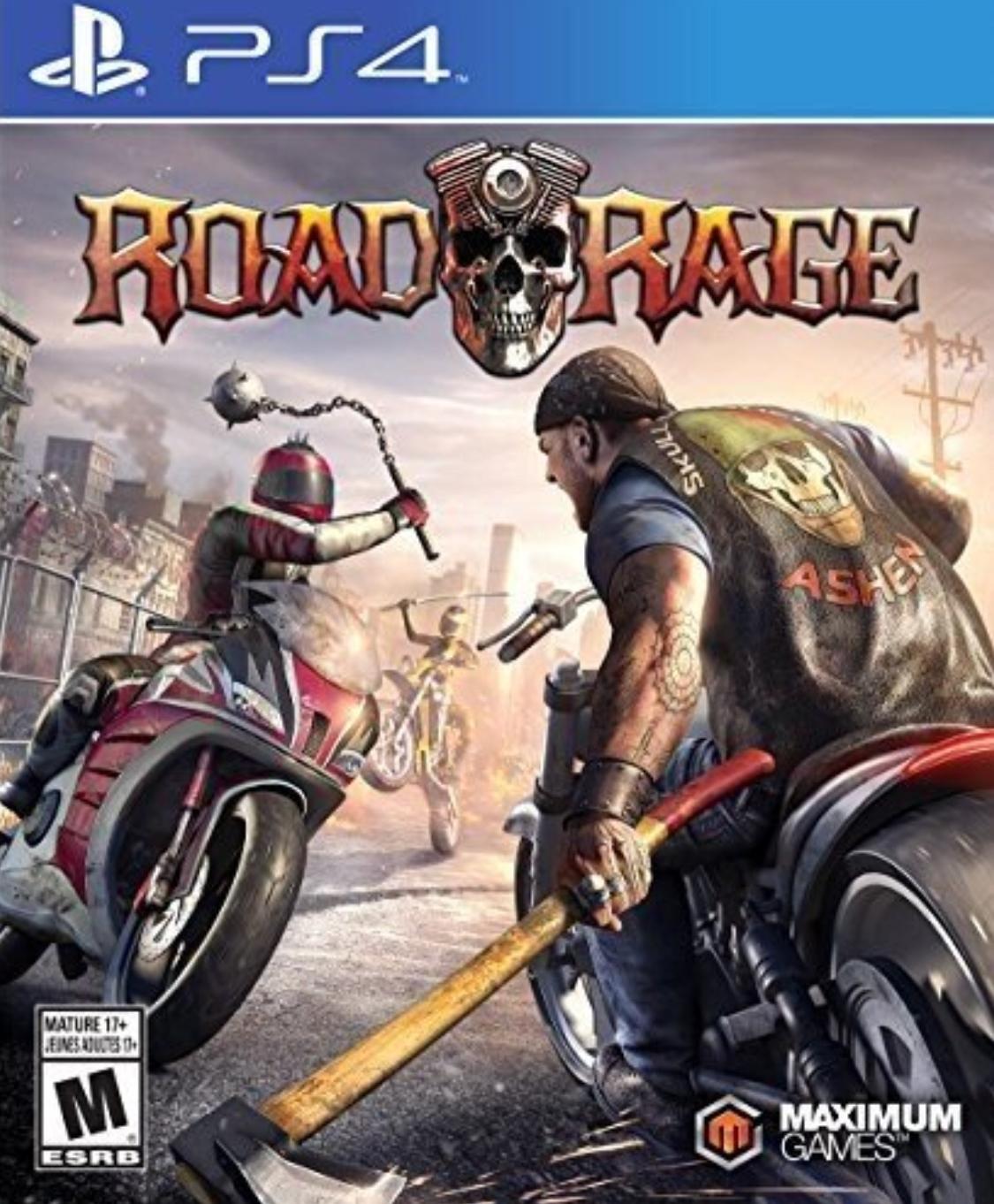 Amazon Add-on: $9.38 Road Rage - PlayStation 4