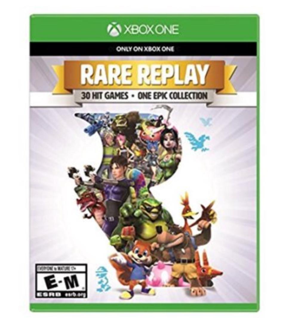 Amazon: $14.99 Rare Replay Xbox One