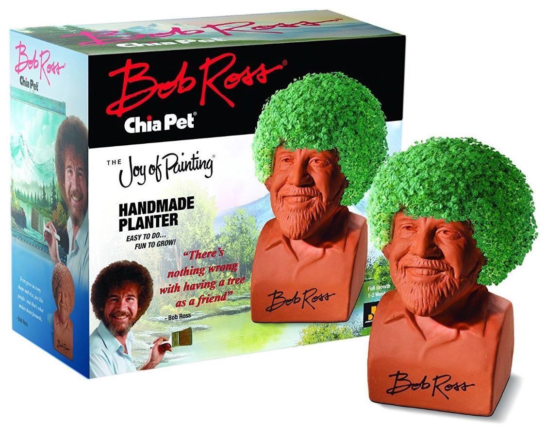 Amazon: $15.97 Chia Pet Bob Ross