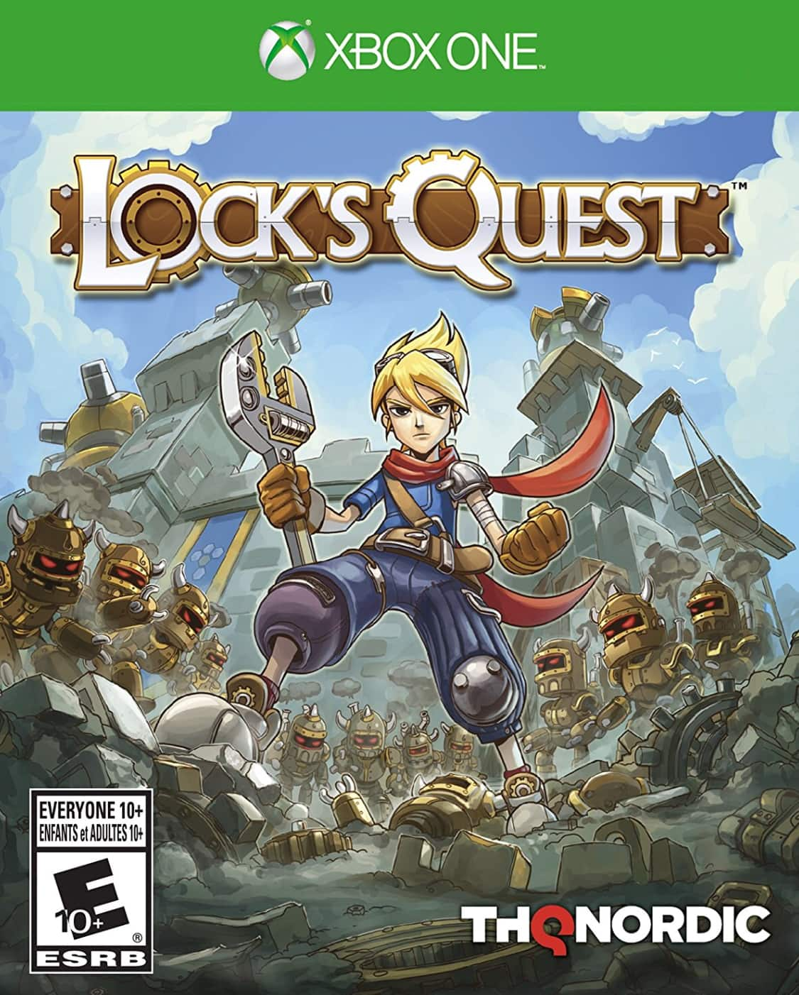 Amazon: $10.49 Lock's Quest - Xbox One Physical Copy